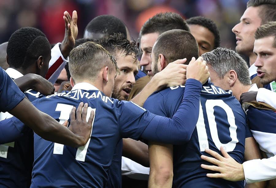 Match Suisse Vs France en direct gratuit sur TF1 et streaming live à partir de 21h00