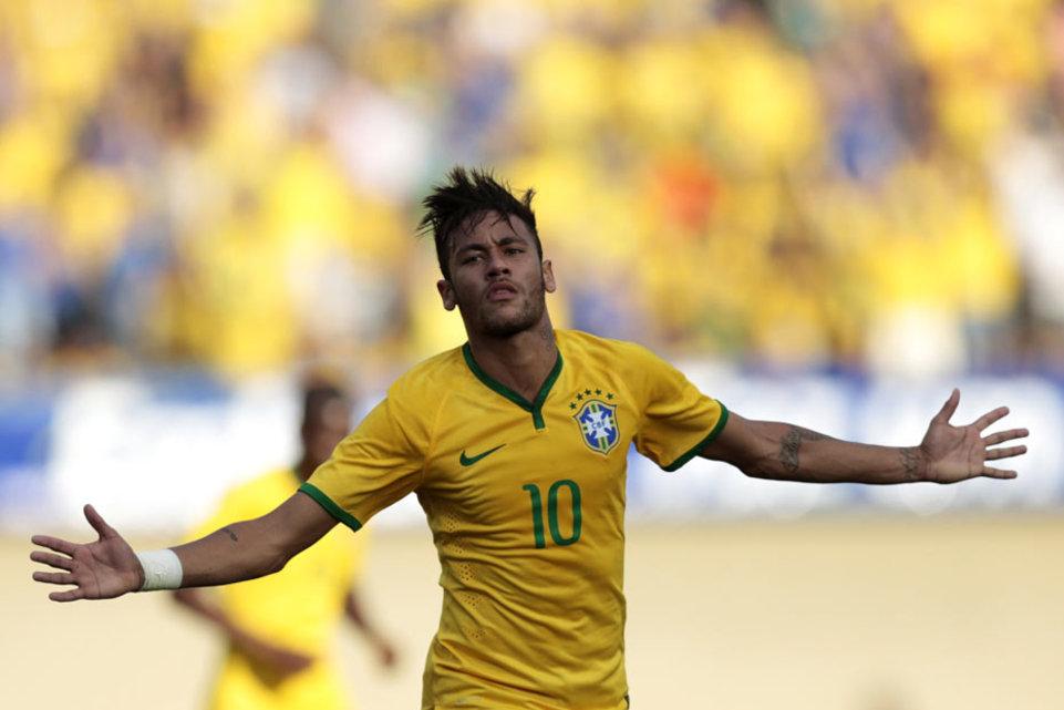 Neymar - Coupe du Monde 2014: Match Brésil - Croatie