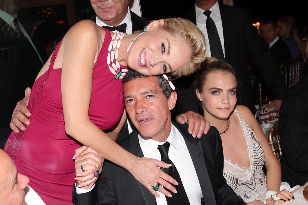 Sharone Stone et Antonio Banderas