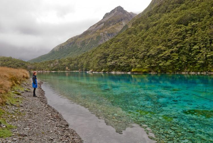 Blue Lake - Nouvelle Zelande