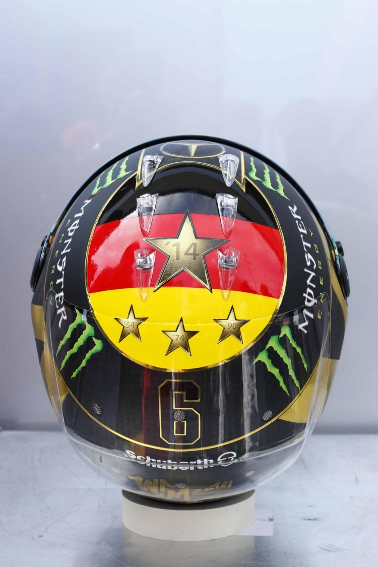 Casque F1 Nico Rosberg - GP F1 Allemagne en direct streaming