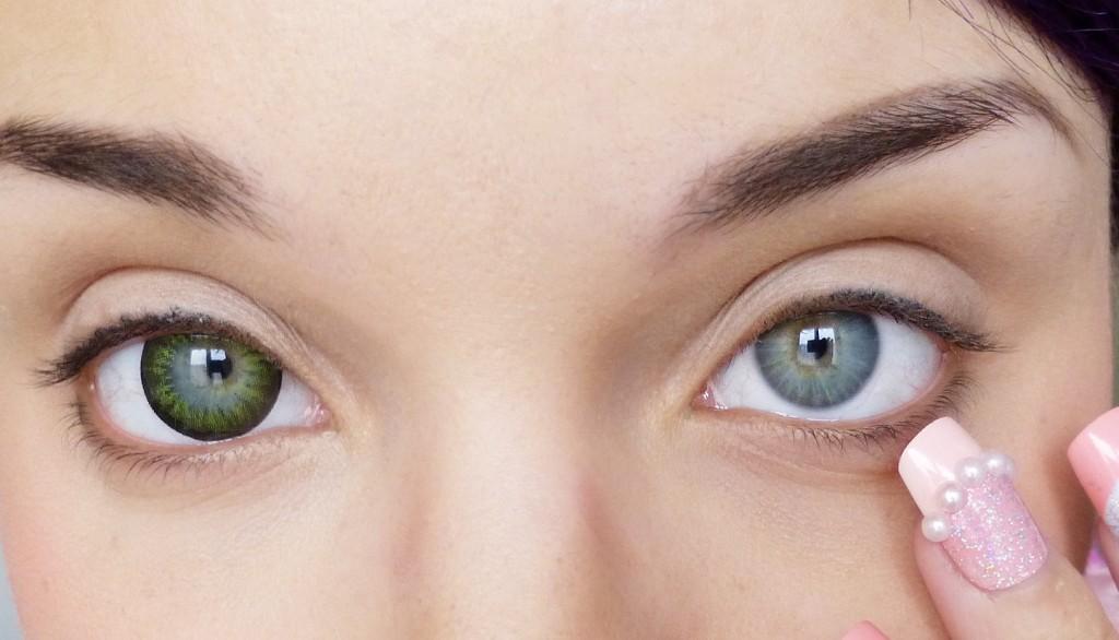 Elle devient aveugle à cause de ses lentilles