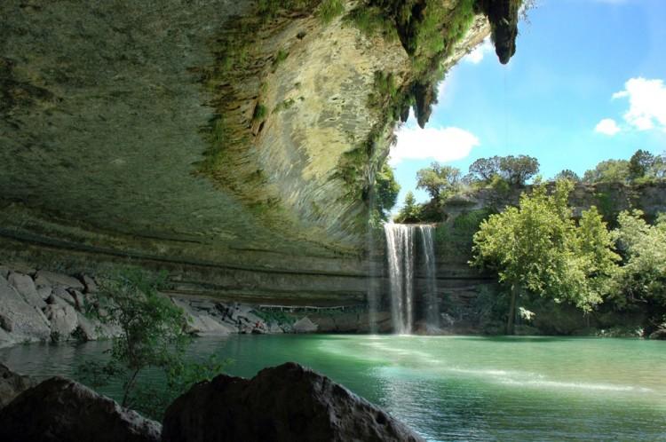Hamilton pool - Austin - Texas (États Unis)