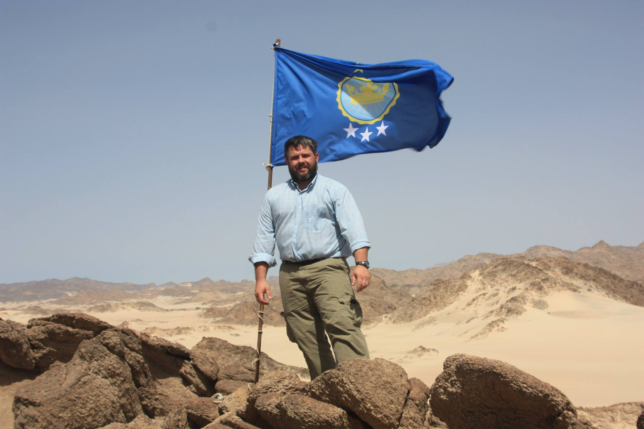 Jeremiah Heaton s'est proclamé roi du Royaume du Soudan du Nord