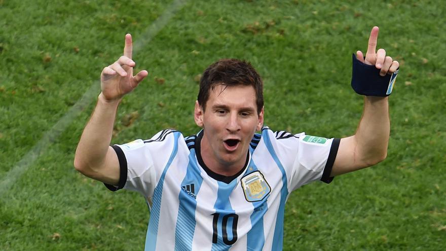 L'Argentine en finale
