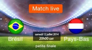 La petite finale rassemble les Pays Bas et le Brésil