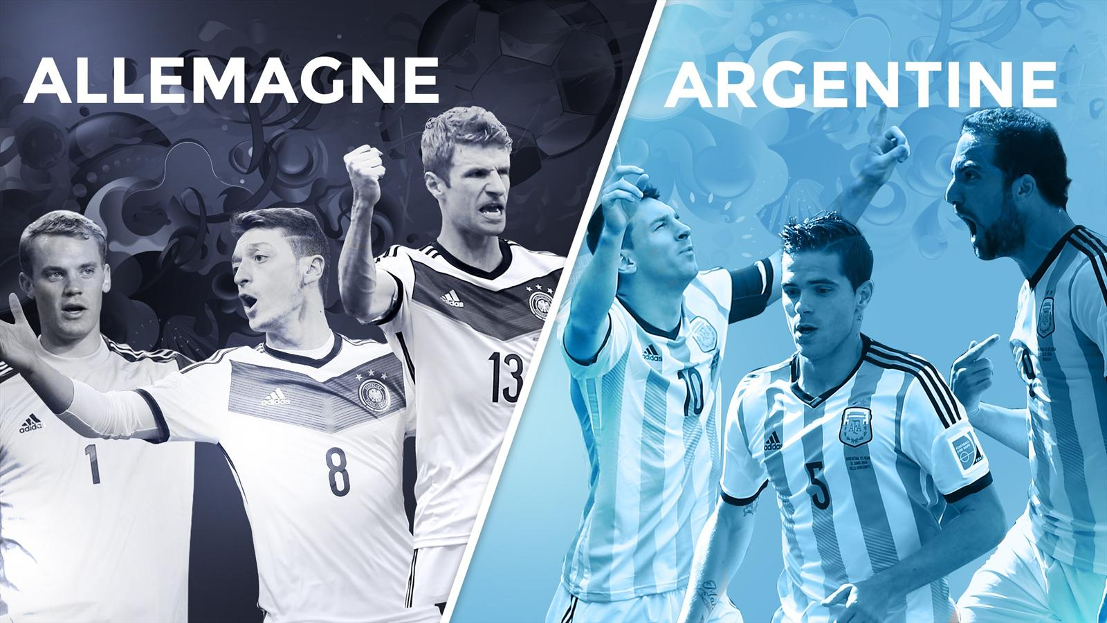 Match Allemagne - Argentine en direct live streaming sur TF1 et beIN Sport 1HD