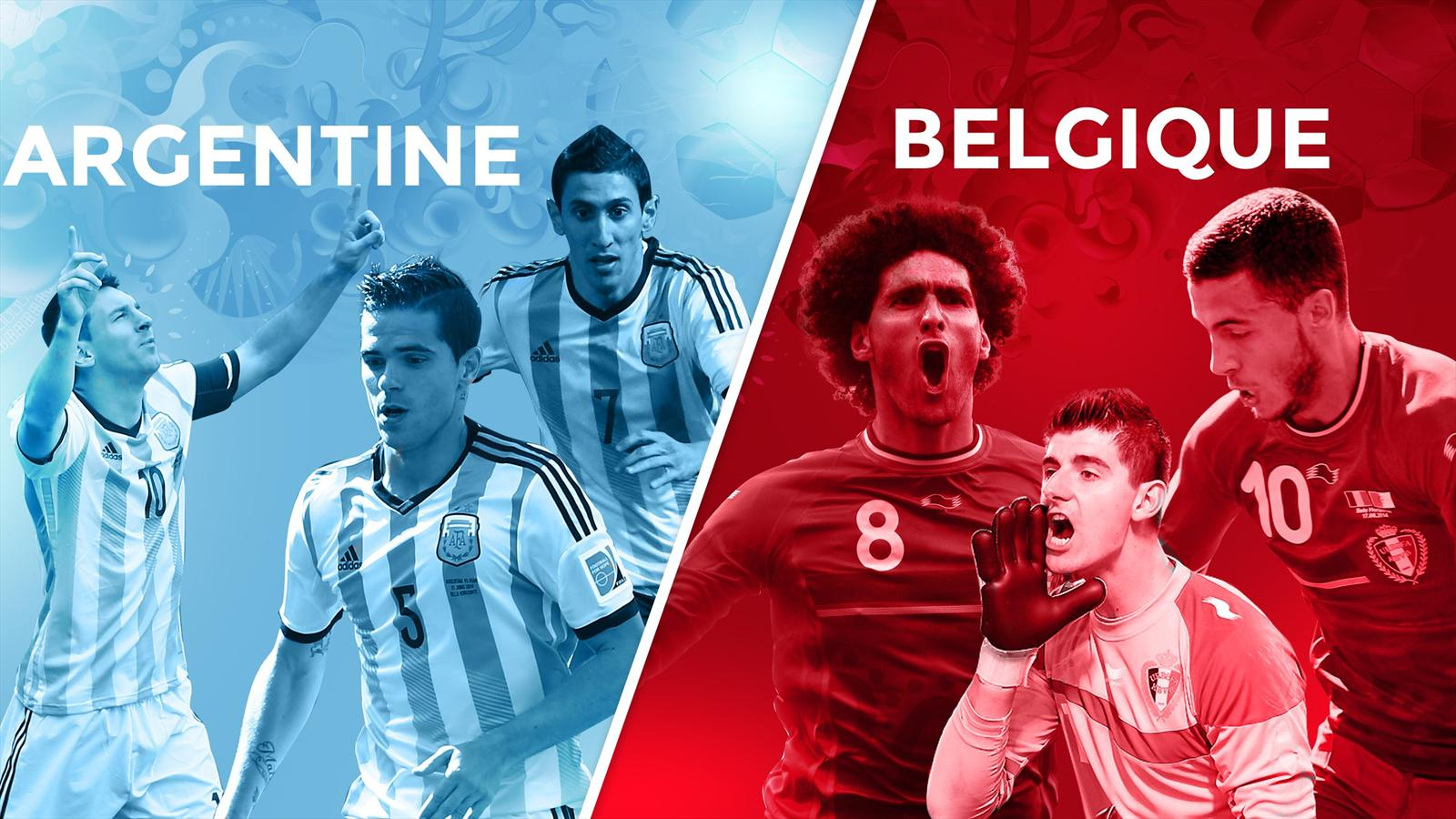 Match Argentine Belgique en direct live streaming