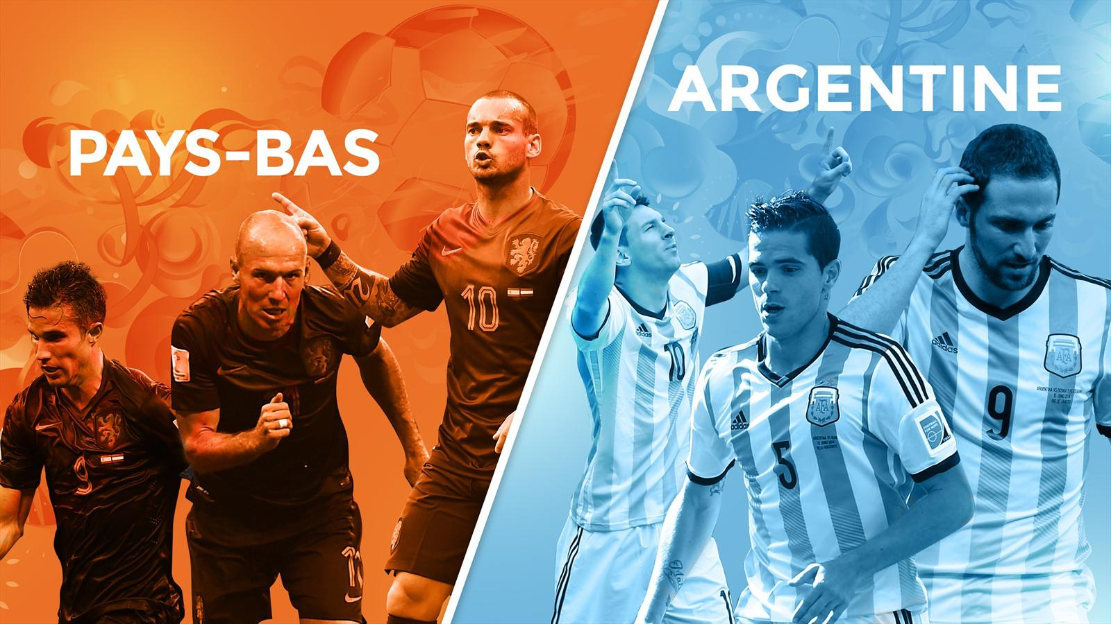 Match Argentine - Pays-Bas en direct live streaming sur TF1 et beIN Sport 1HD