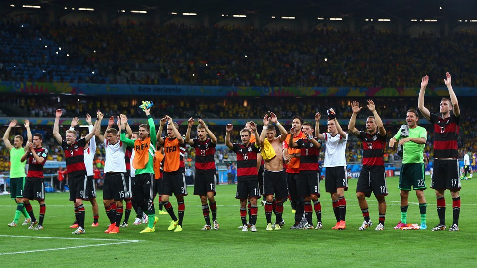 Match Brésil Allemagne replay resume