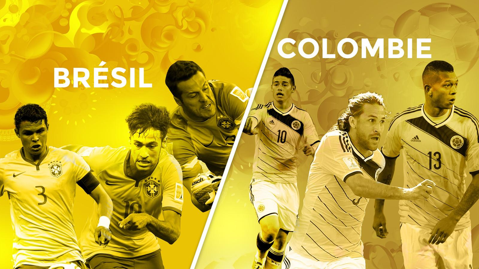 Match Brésil Colombie en direct live streaming