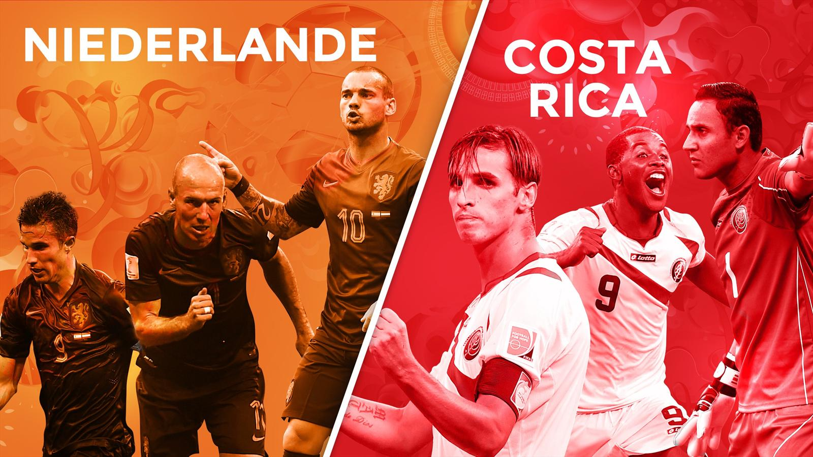 Match Pays-Bas Costa Rica en direct streaming live