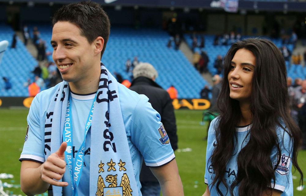 Samir Nasri et sa compagne Anara Atanes