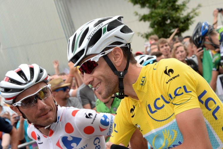 Vincenzo Nibali et Joachim Rodriguez - Tour de France en direct live sur France 2