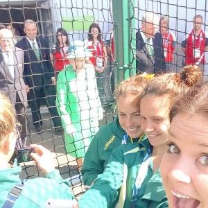 Un selfie avec la Reine Elizabeth II