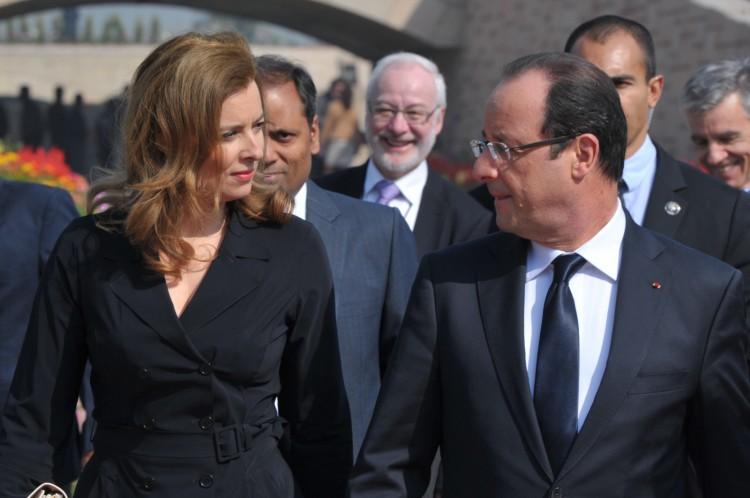 Valerie Trierweiler - François Hollande