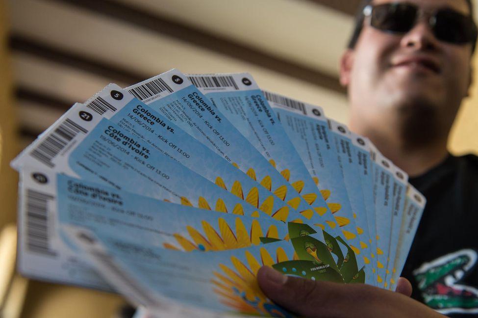 Vente illégale de Tickets de la Coupe du Monde 2014