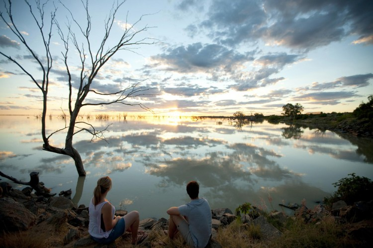 Lac Menindee - Australie