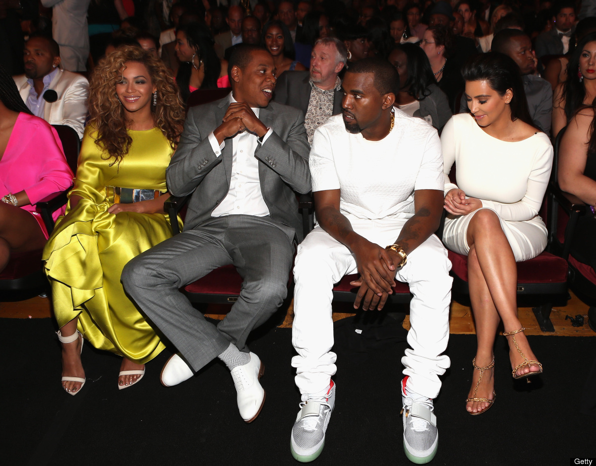 Beyonce - Jay Z - Kanye West - Kim Kardashian