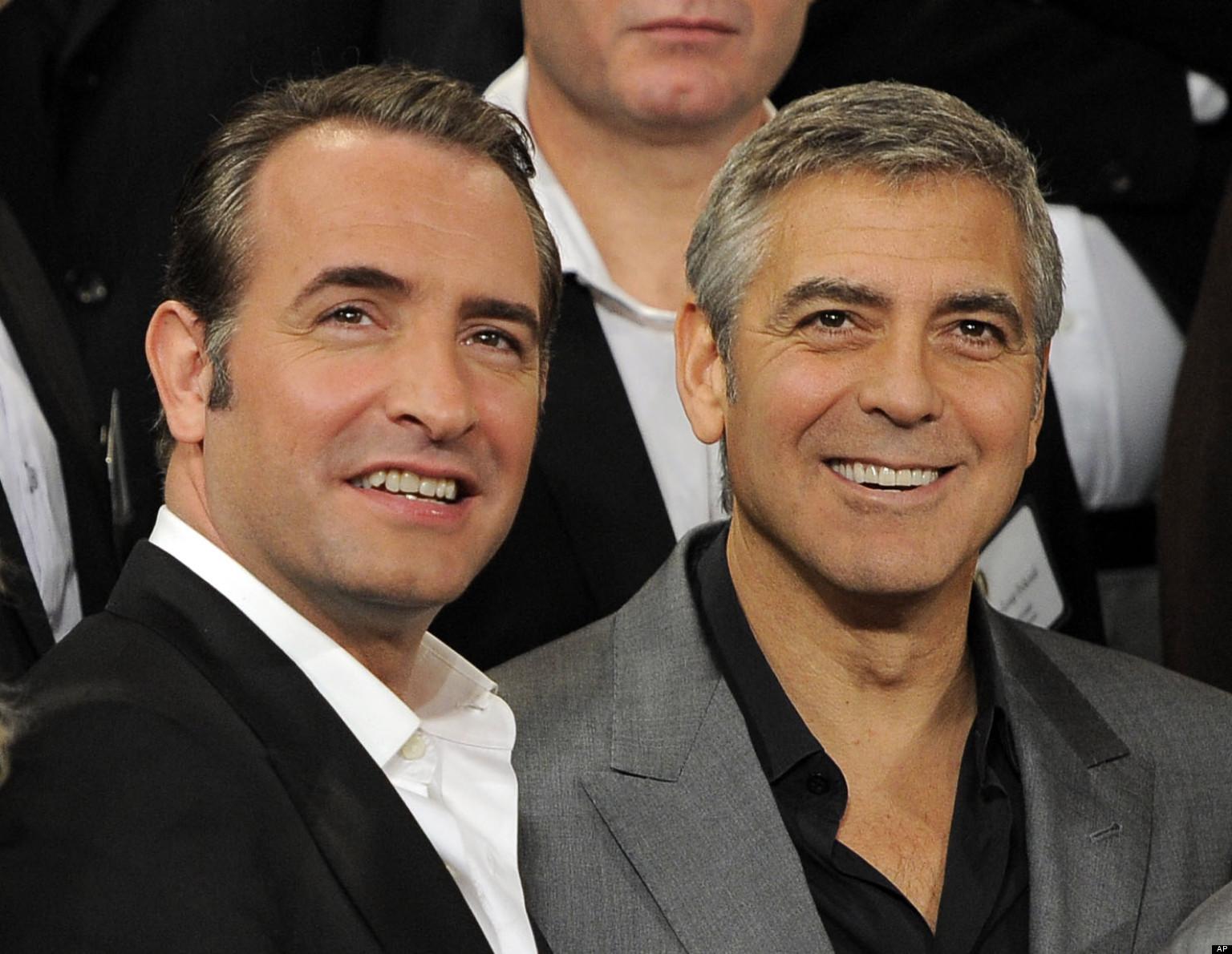 Jean Dujardin - George Clooney
