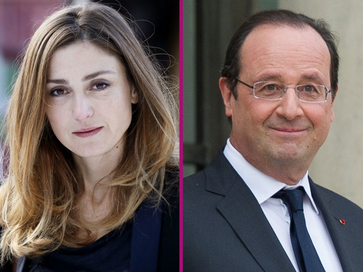 Julie Gayet - Francois Hollande