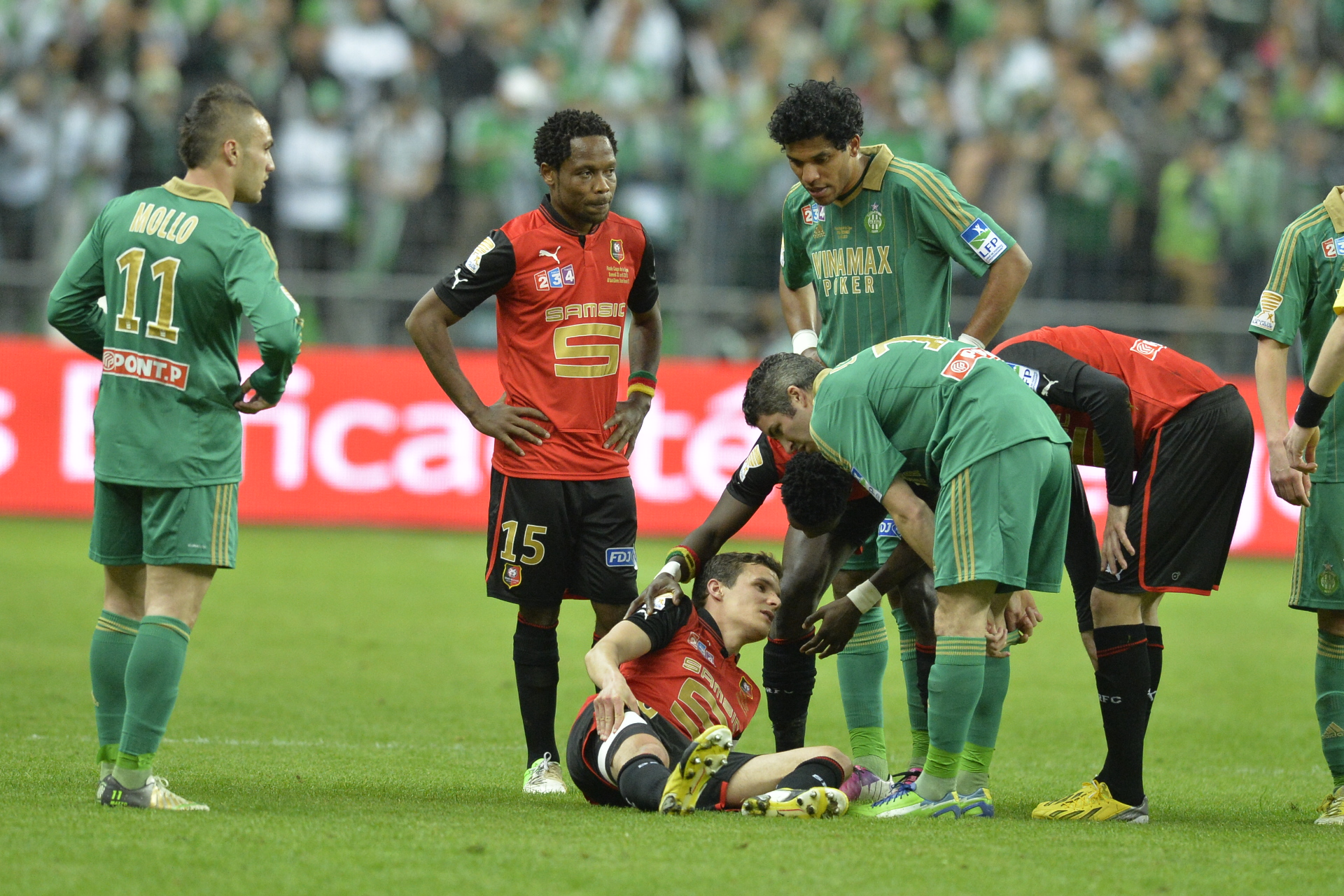 Match ASSE Rennes en direct streaming live