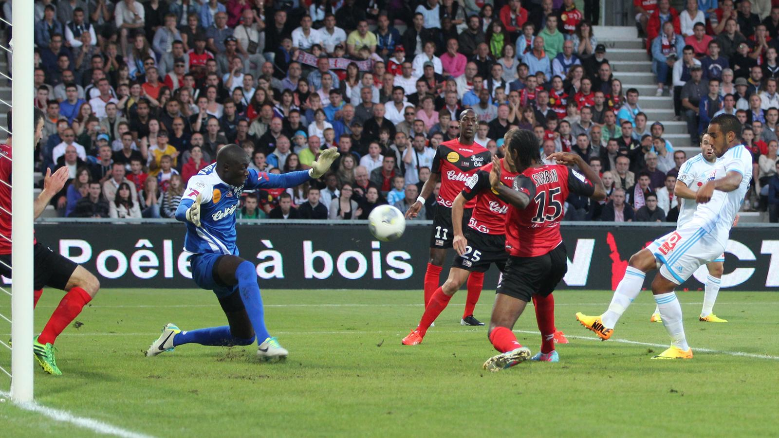 Match EA Guingamp Olympique de Marseille en direct live streaming