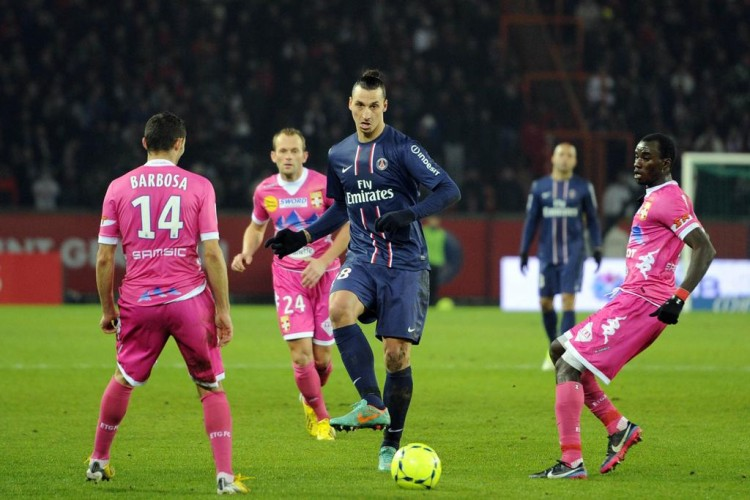 Match Evian TG PSG en direct streaming live