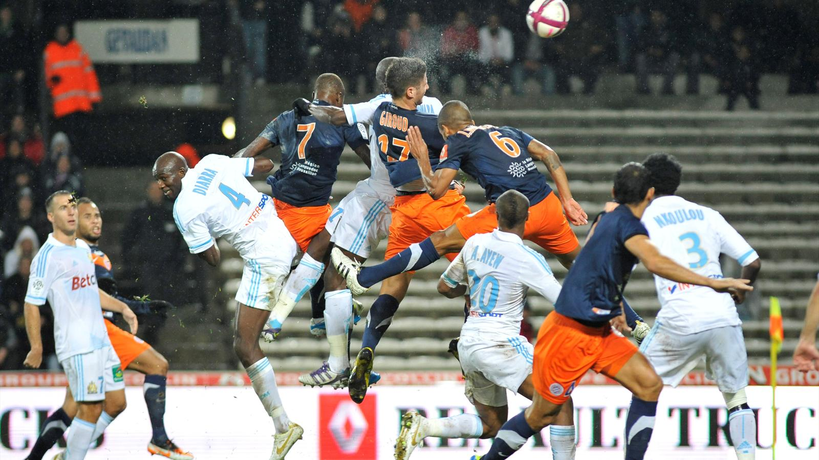 Match Olympique de Marseille Montpellier en direct live streaming