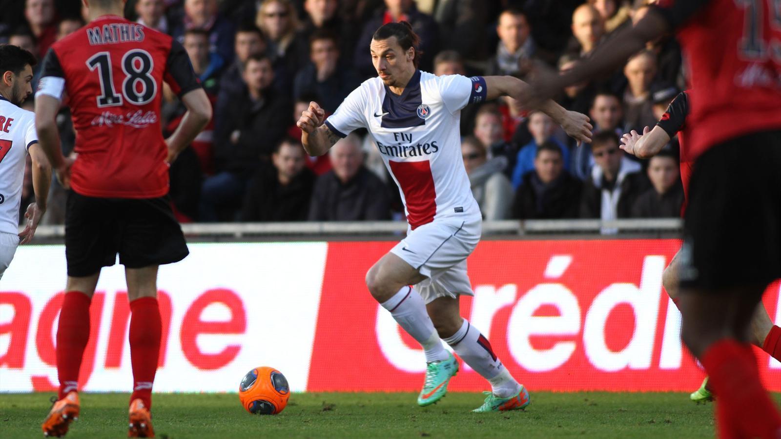 Match PSG Guingamp en direct streaming live