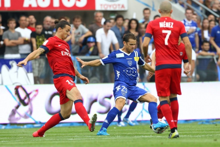 Match Paris Saint-Germain vs SC Bastia en direct streaming live
