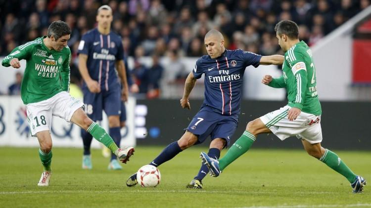 Match Saint-Etienne vs PSG en direct live streaming