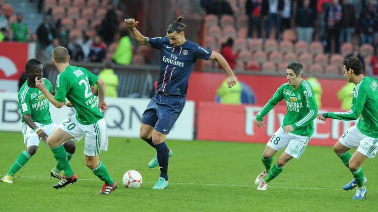 Match PSG Saint-Etienne en direct streaming live