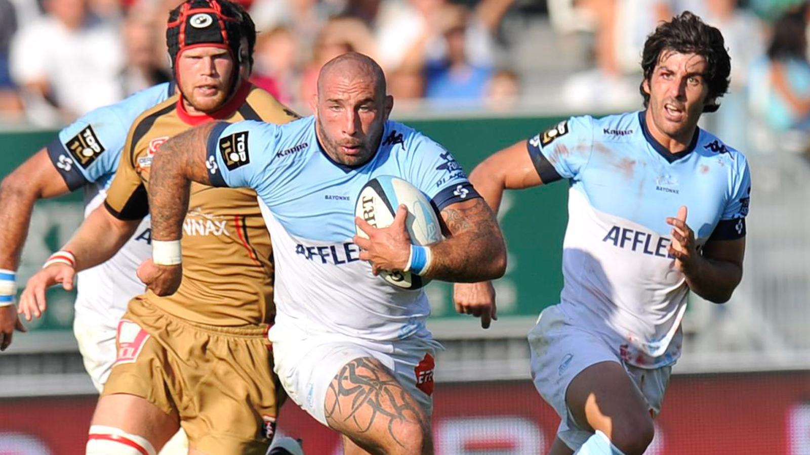 Match de Rugby Aviron Bayonnais Oyonnax en direct streaming live