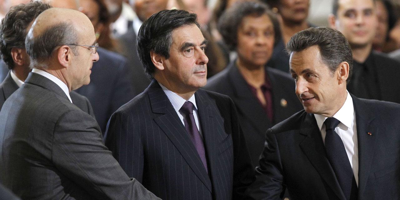 Alain Juppé - François Fillon - Nicolas Sarkozy