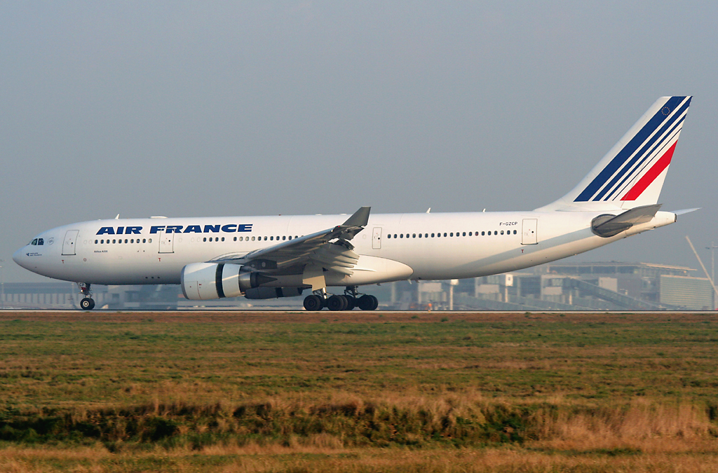 Avion de la compagnie Air France