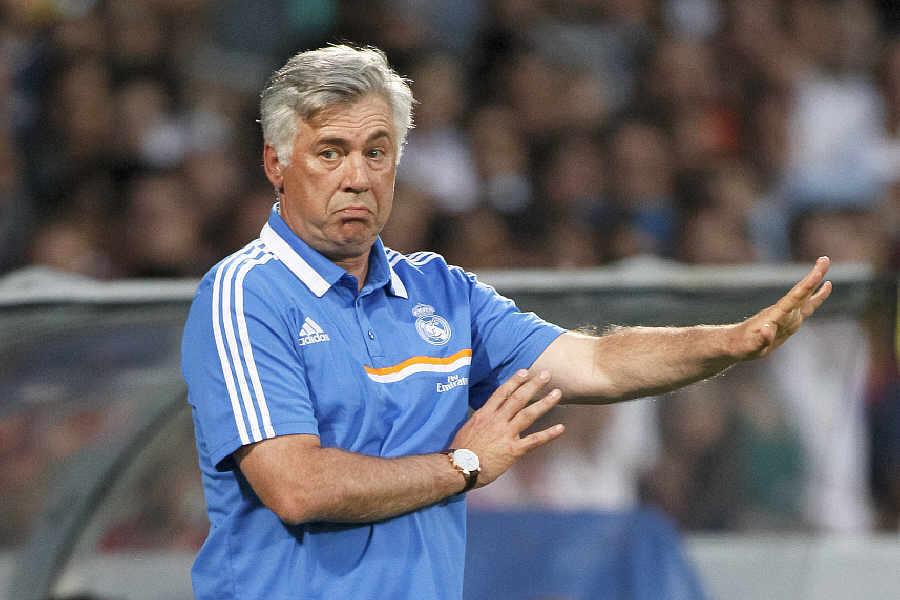 Carlo Ancelotti - coach du Real Madrid