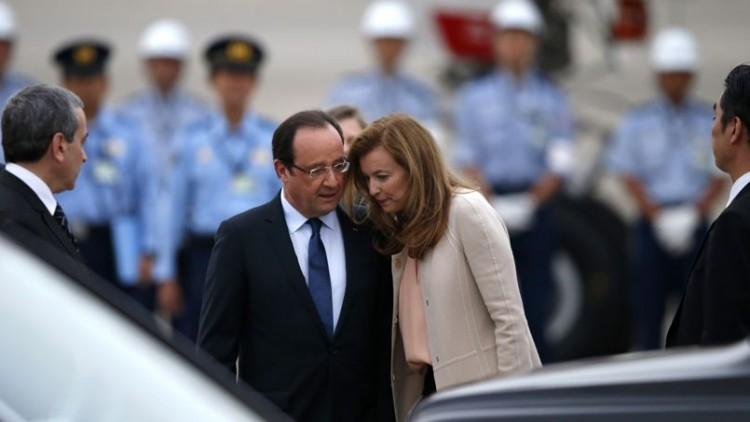 François Hollande - Valérie Tierweiler