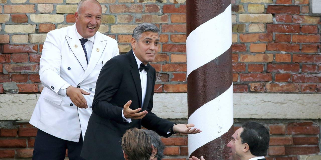 George Clooney et Amal Alamuddin se sont maries