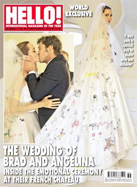 Les premières photos du mariage d'Angelina Jolie et Brad Pitt