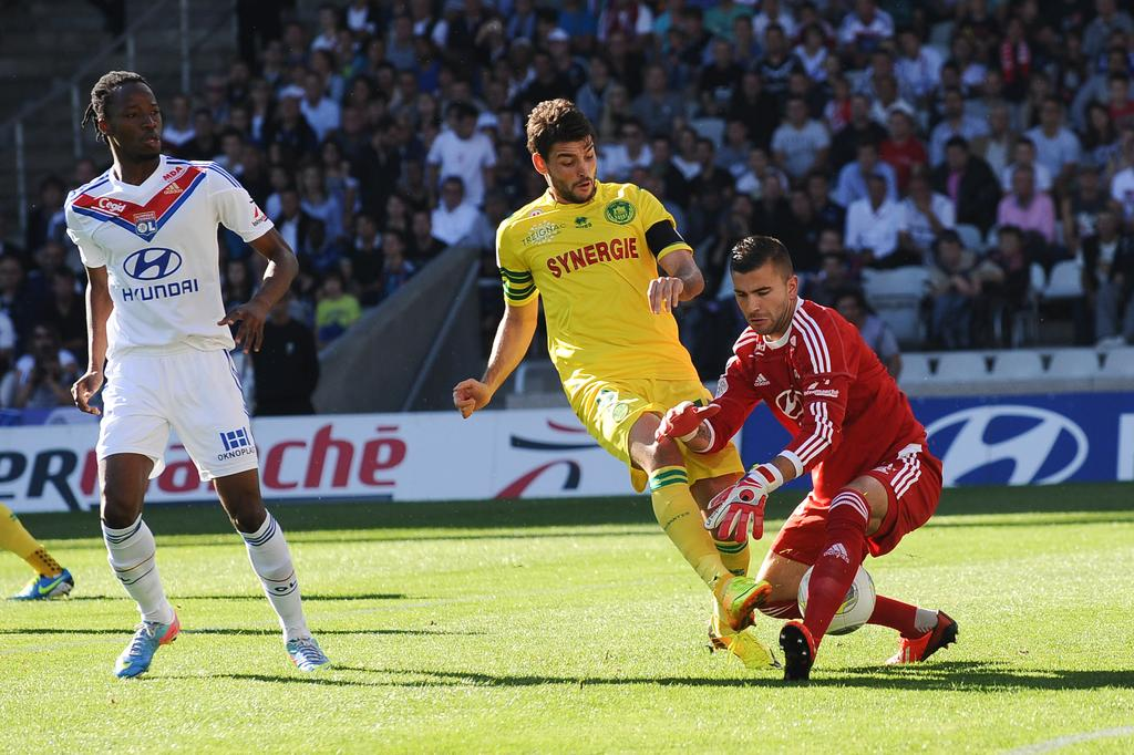 Match FC Nantes vs Olympique Lyonnais en direct live streaming