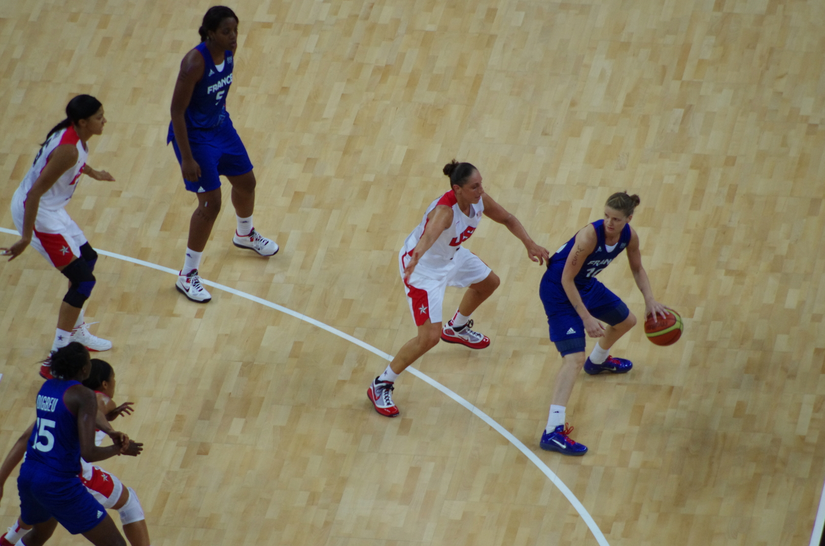 Match France USA Basketball en direct live streaming