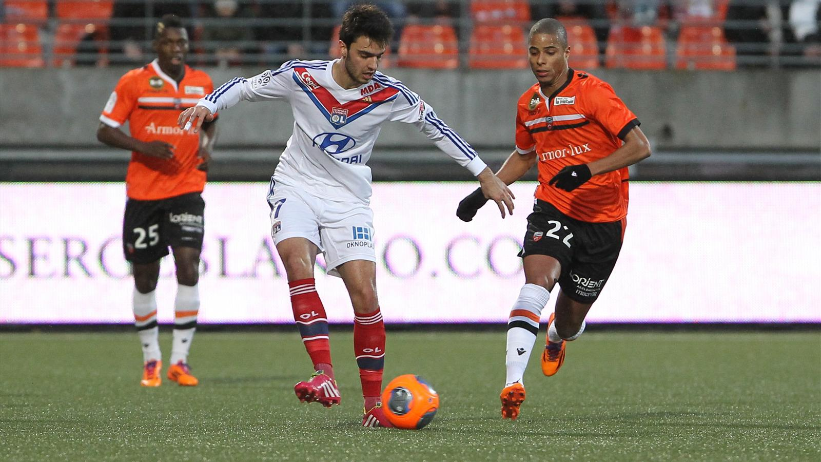 Match Olympique Lyonnais vs FC Lorient en direct streaming live