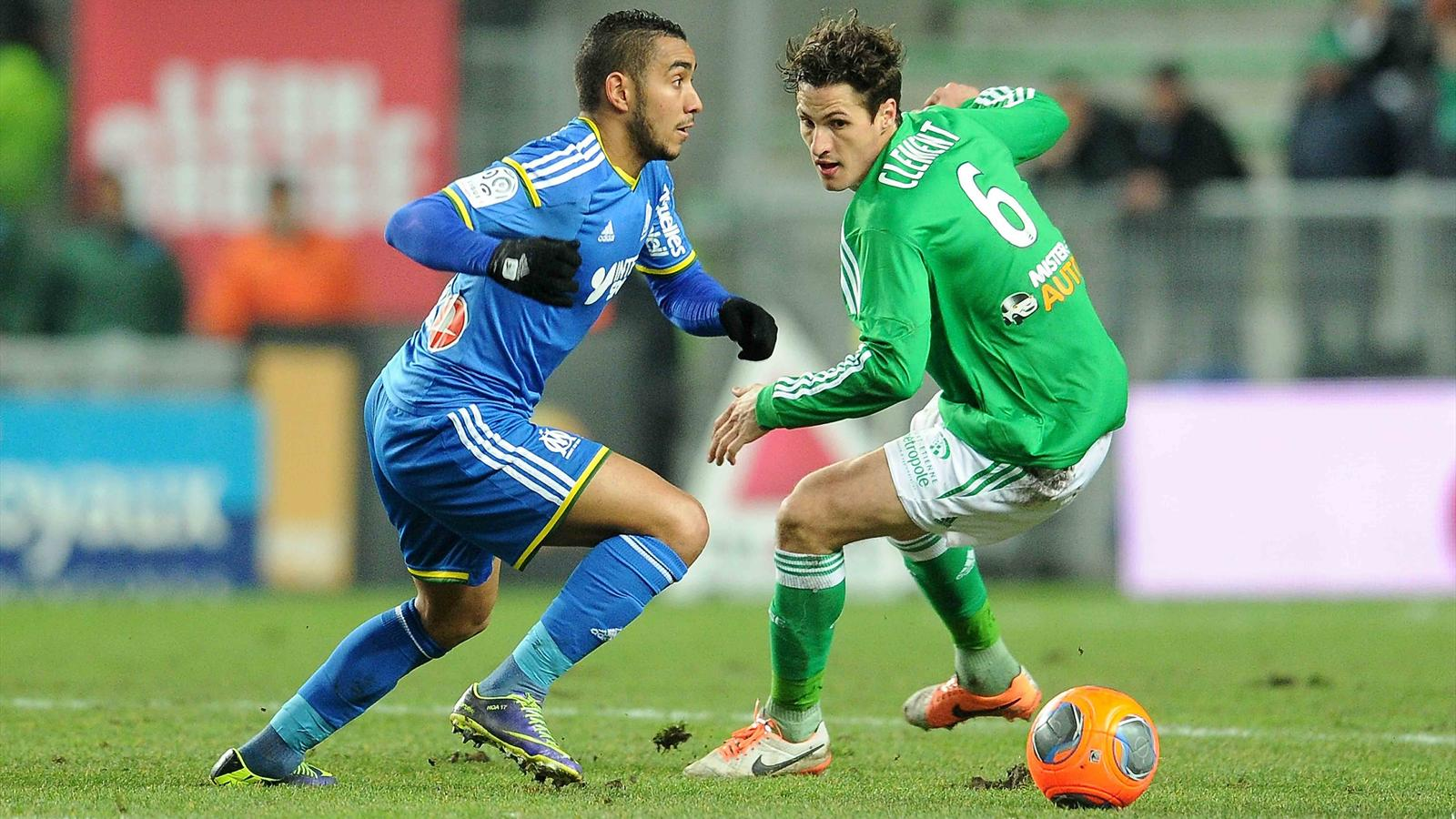 Match Olympique de Marseille vs AS Saint-Etienne en direct streaming live