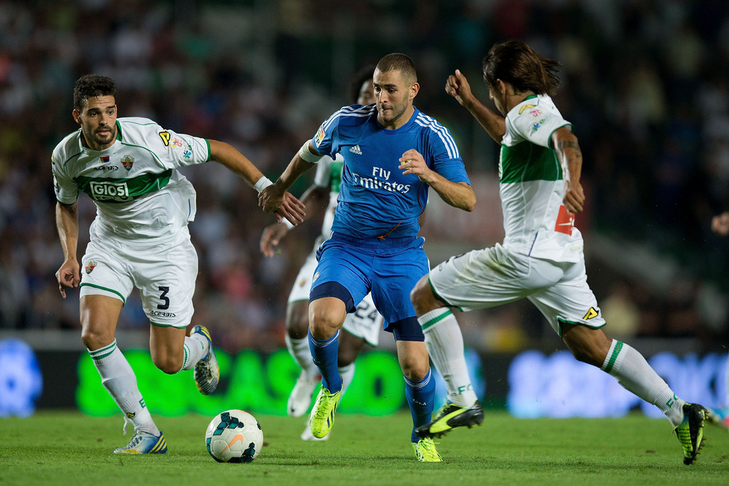 Match Real Madrid vs Elche en direct streaming live