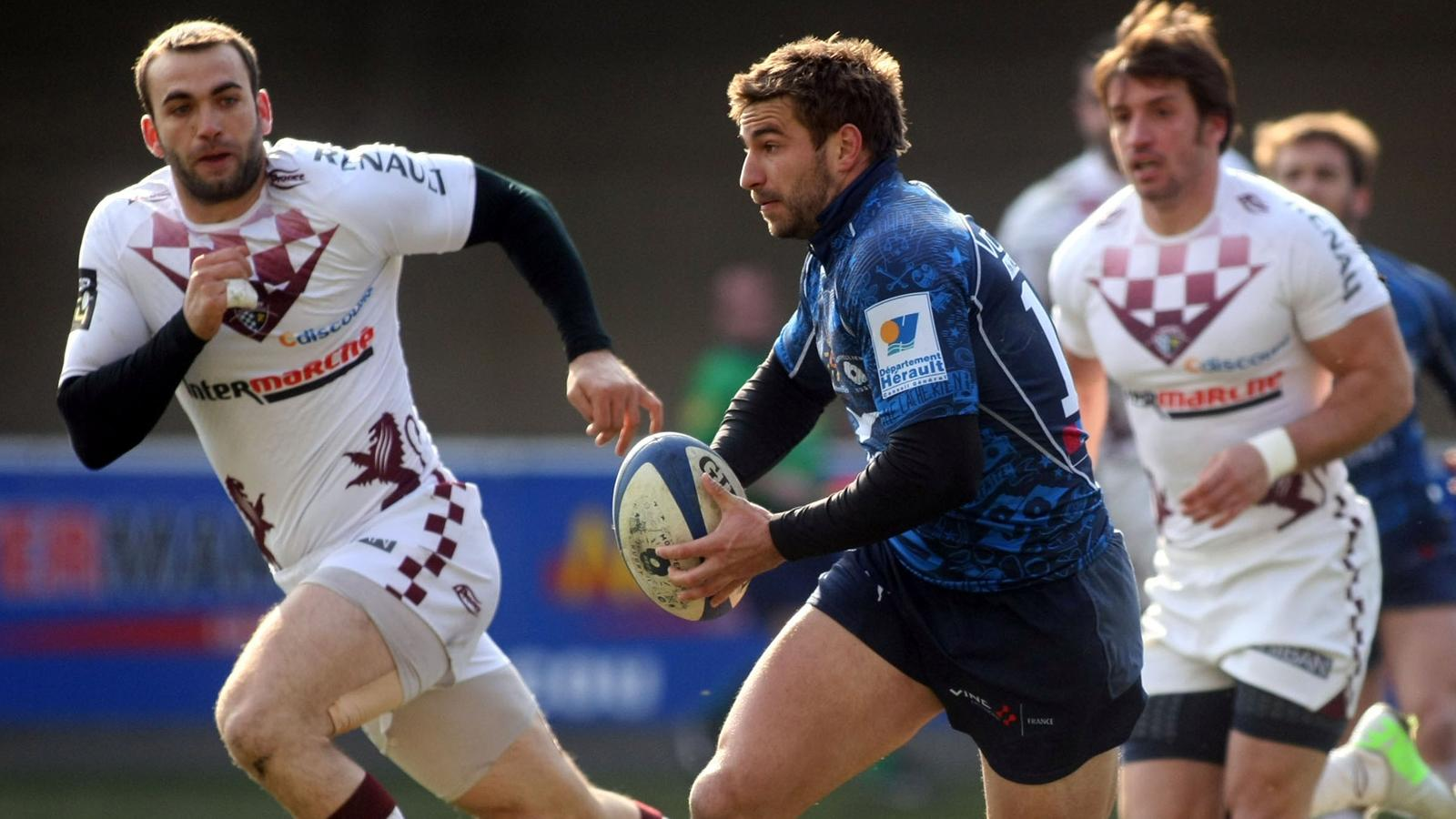 Match Rugby Union Bordeaux Begles vs Montpellier en direct live streaming