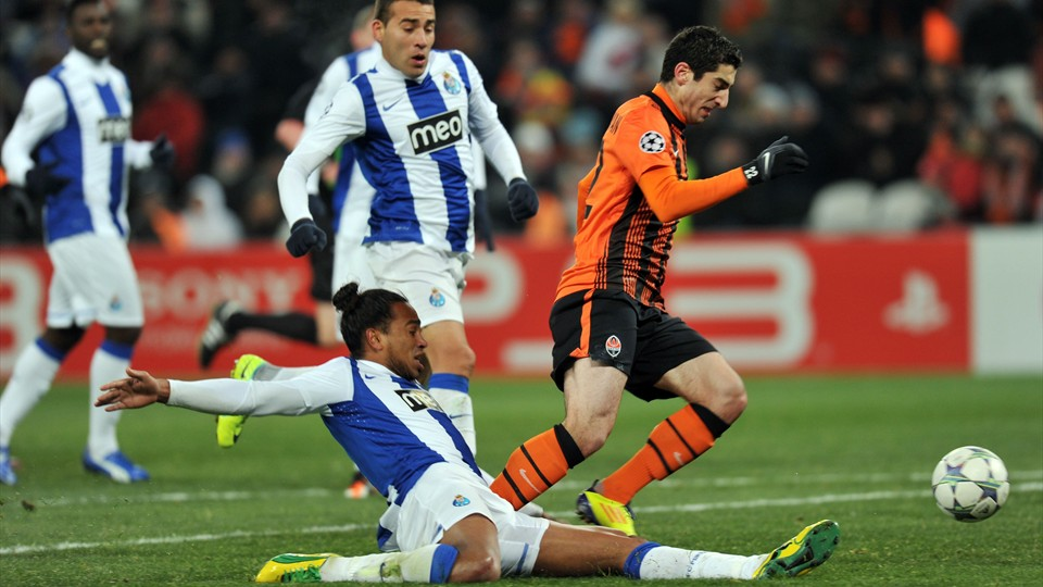 Match Shakhtar Donetsk vs FC Porto en direct streaming live