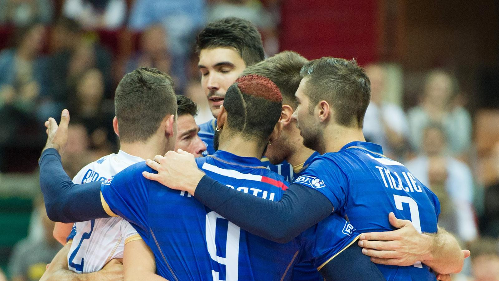 Match Volley France vs Allemagne en direct live streaming
