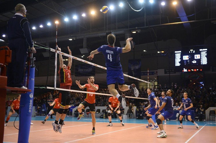 Match Volleyball France Belgique en direct streaming live
