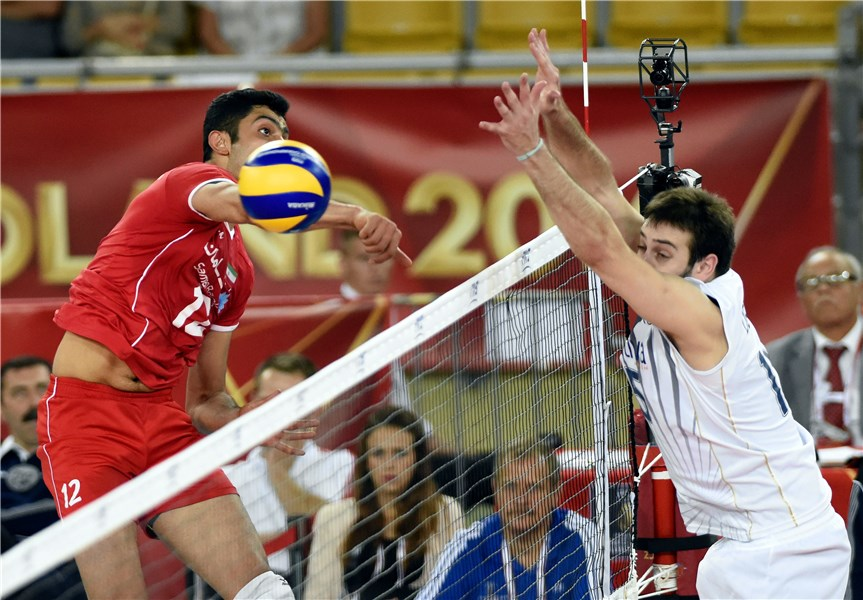 Match Volleyball France Iran en direct live streaming